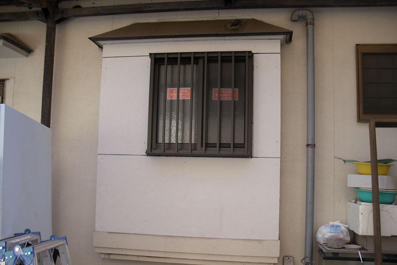 浴室窓交換