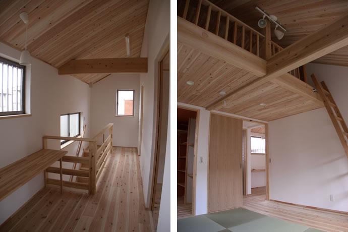 廊下からの畳のある主寝室